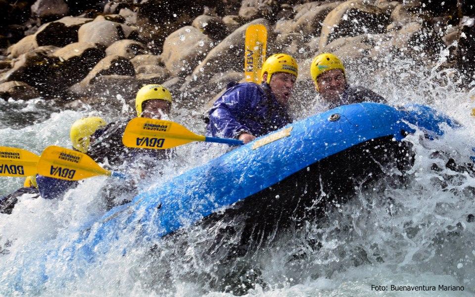 rafting bbva